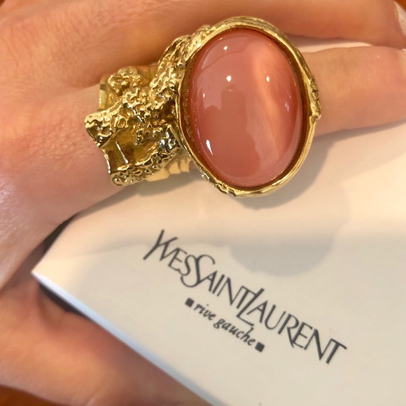 Yves Saint Laurent Jewelry - 💜 OFFER ! Yves Saint Laurent Discontinued ring 💜